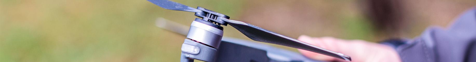 détail drone