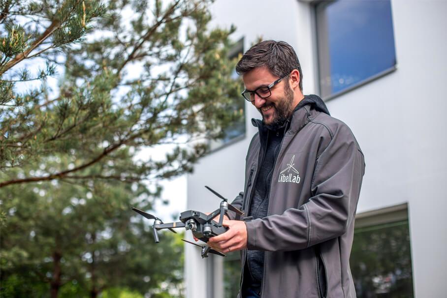 télépilote de drone à poitiers