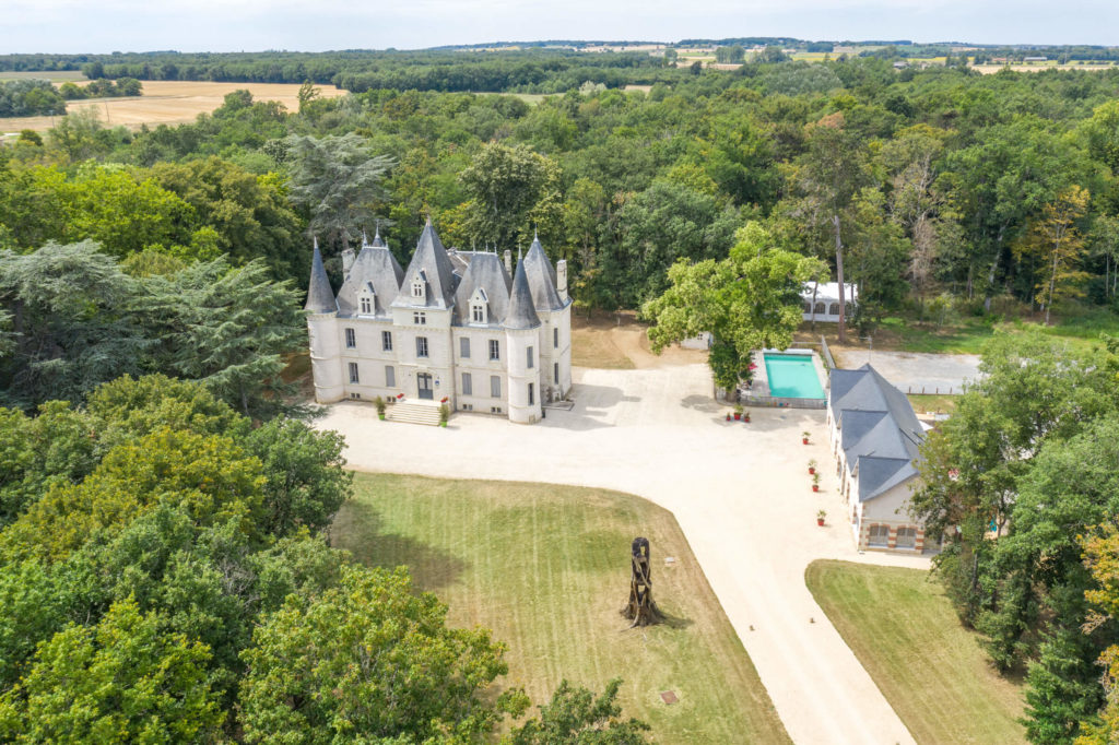 chateau de baillant drone poitiers